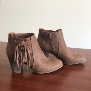Fergalicious Leather Ankle Boots for women